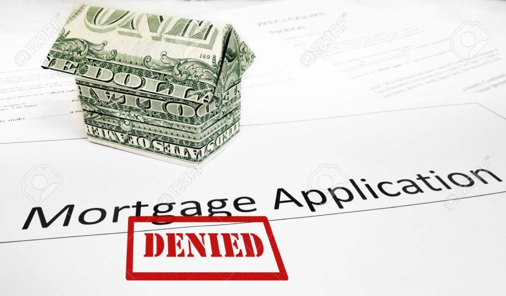 Denied home loan